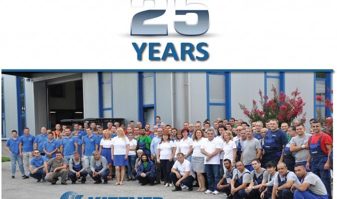 Вдъхновяващ празник по случай 25 годишнината на КИТТНЕР!